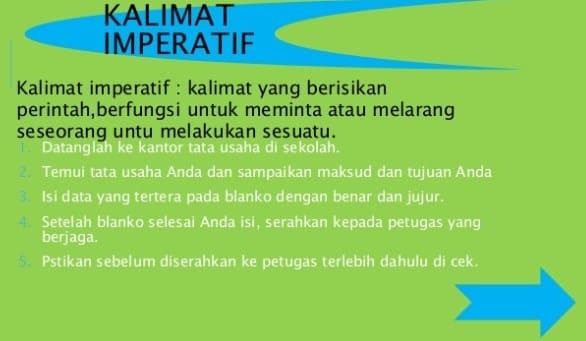Contoh Kalimat Interogatif