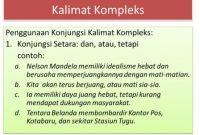 Contoh Kalimat Kompleks