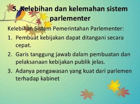 √21 Kelebihan Sistem Parlementer dan Kekurangannya