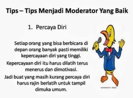 Cara Menjadi Moderator