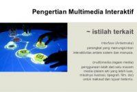 Jenis Media Interaktif