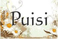 √Pengertian Puisi : Unsur , Struktur , Jenis dan Cirinya
