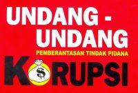 Undang Anti Korupsi