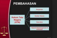 Asas Hukum Tata Negara
