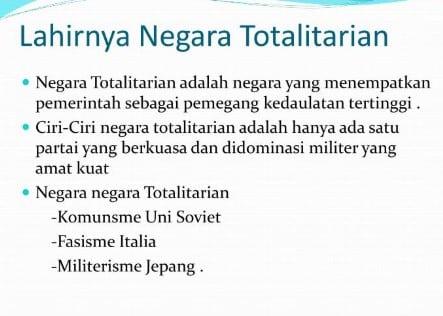√ Negara Totalitarian: Pengertian, Ciri Dan Contohnya