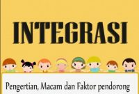 Pengertian Integrasi Nasional