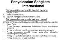 Sangketa Internasional