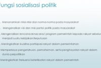 √ Fungsi Sosialisasi Politik: Pengertian, Tujuan, Macam dan Sarana
