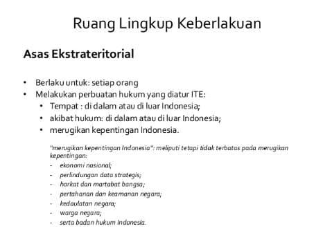 Wilayah Ekstrateritorial