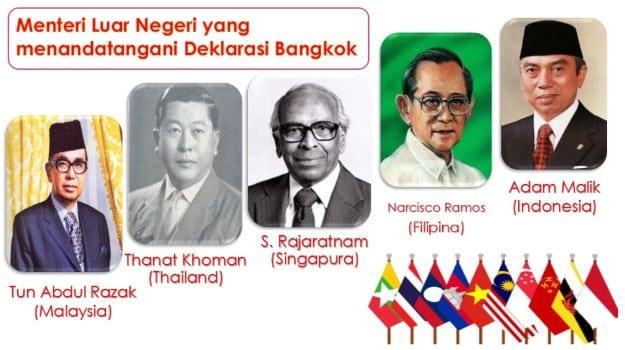 sebutkan 5 menteri luar negeri yang menandatangani deklarasi bangkok, isi deklarasi bangkok, deklarasi bangkok ditandatangani pada tanggal, menteri luar negeri indonesia yang ikut menandatangani deklarasi bangkok adalah, sebutkan isi deklarasi bangkok, siapa saja yang menandatangani deklarasi bangkok, negara yang tidak menandatangani deklarasi bangkok yaitu, tujuan deklarasi bangkok