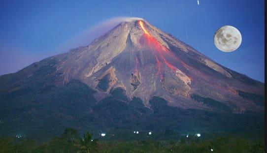 Cerita Legenda Gunung Merapi