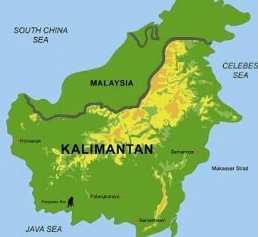 √ Asal Usul Kalimantan Timur : Pembentukan Provinsi dan Kota