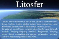 √ Pengertian Litosfer : Pembagian, Komposisi dan Macamnya