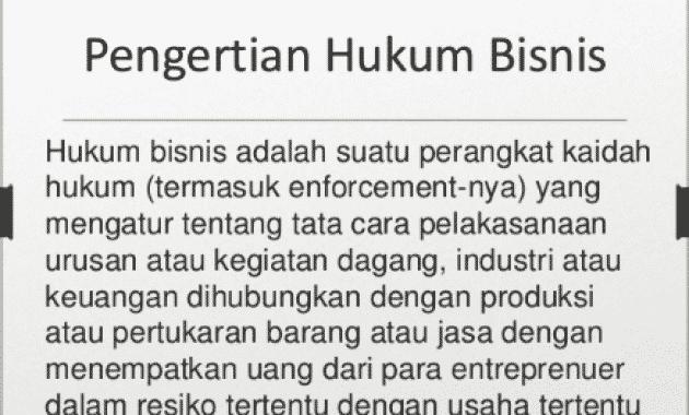 √Apa itu Hukum Bisnis: Pengertian, Tujuan, Fungsi, Sumber