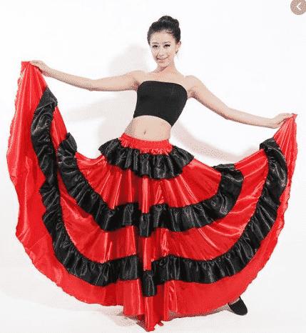 kostum flamenco