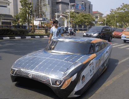 energi matahari pada transportasi
