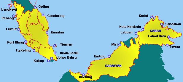 julukan negara malaysia