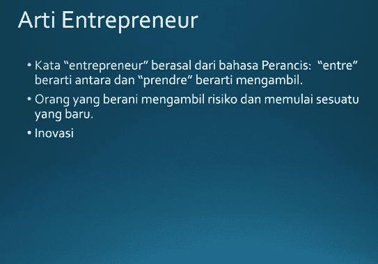 Arti-Entrepreneur