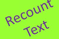 Recount-Text-Adalah