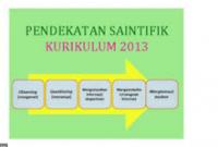 Pendekatan Saintifik