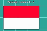 Ukuran Bendera Merah Putih